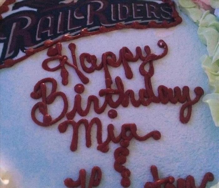 Birthday Celebration with the Railriders