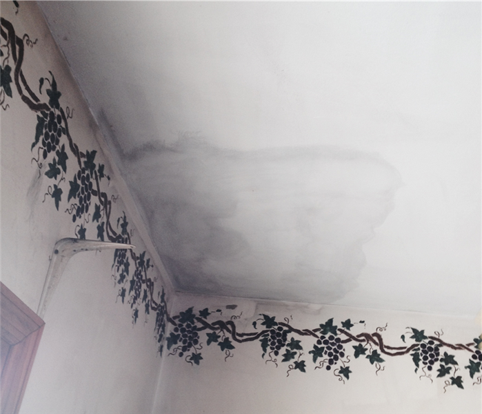 Soot Stained Ceiling