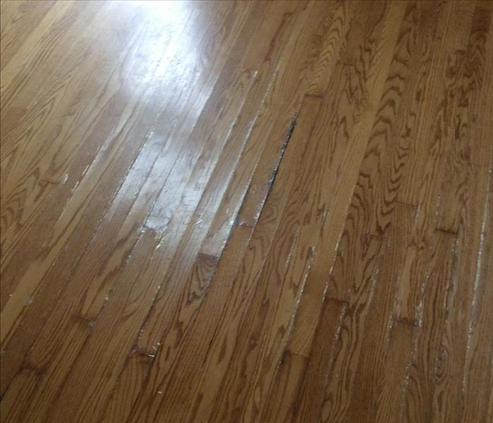 Buckled Oak Floor