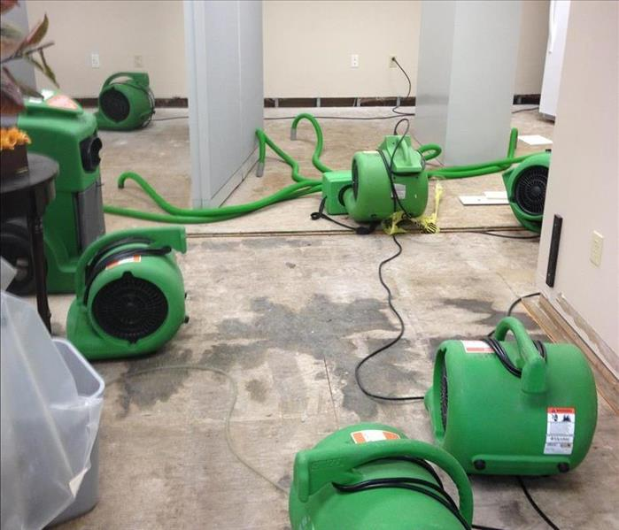 Water Damage Air Movers